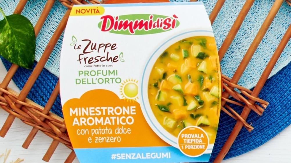 DimmidiSì: sì alle zuppe fresche profumi dell'orto