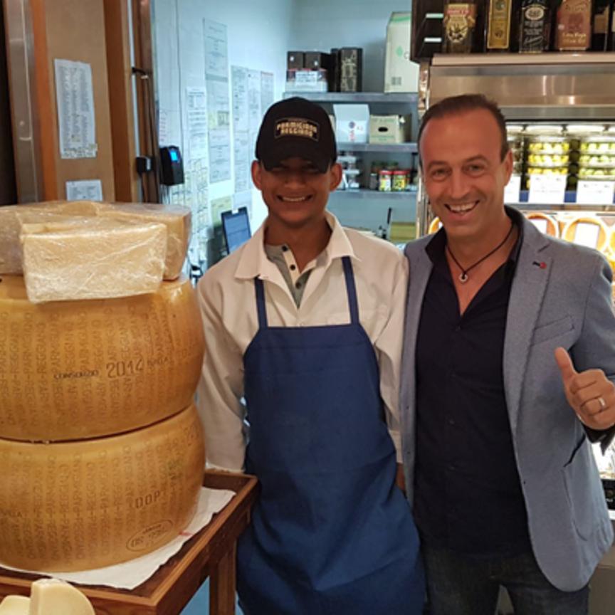 Il Parmigiano Reggiano scommette sugli Usa