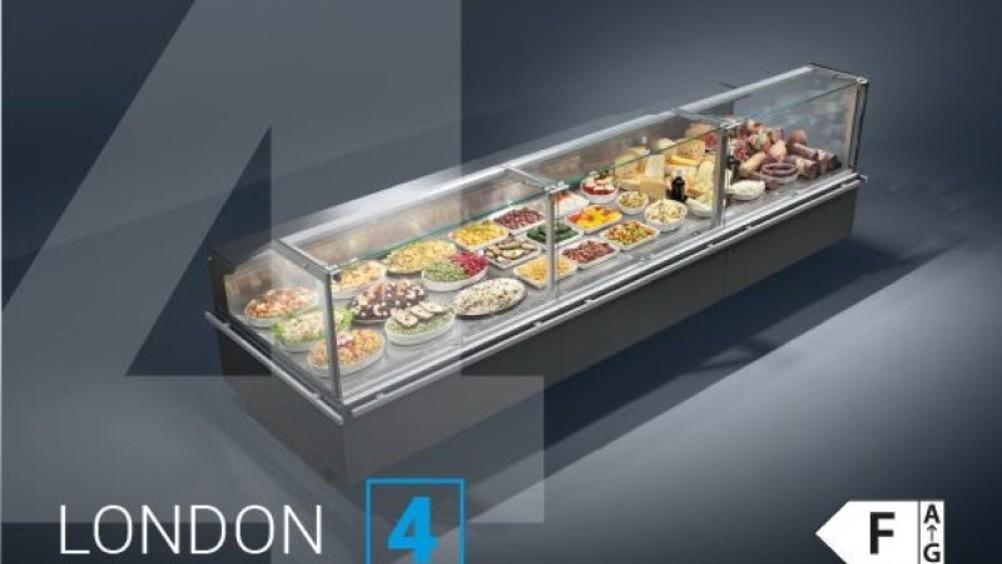 Arneg presenta le nuove vetrine frigo London 4 e Arles