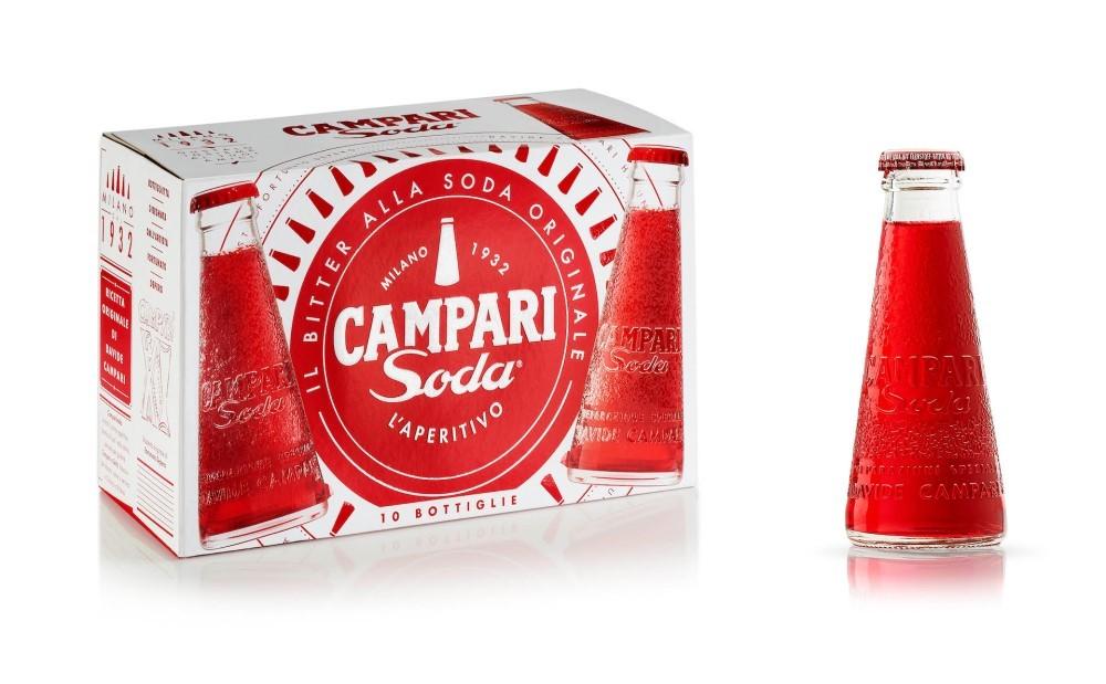 Campari Soda: una nuova Brand visual identity