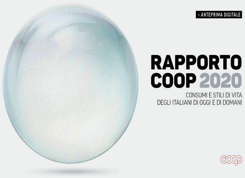 Rapporto Coop: tutti i comportamenti del post pandemia