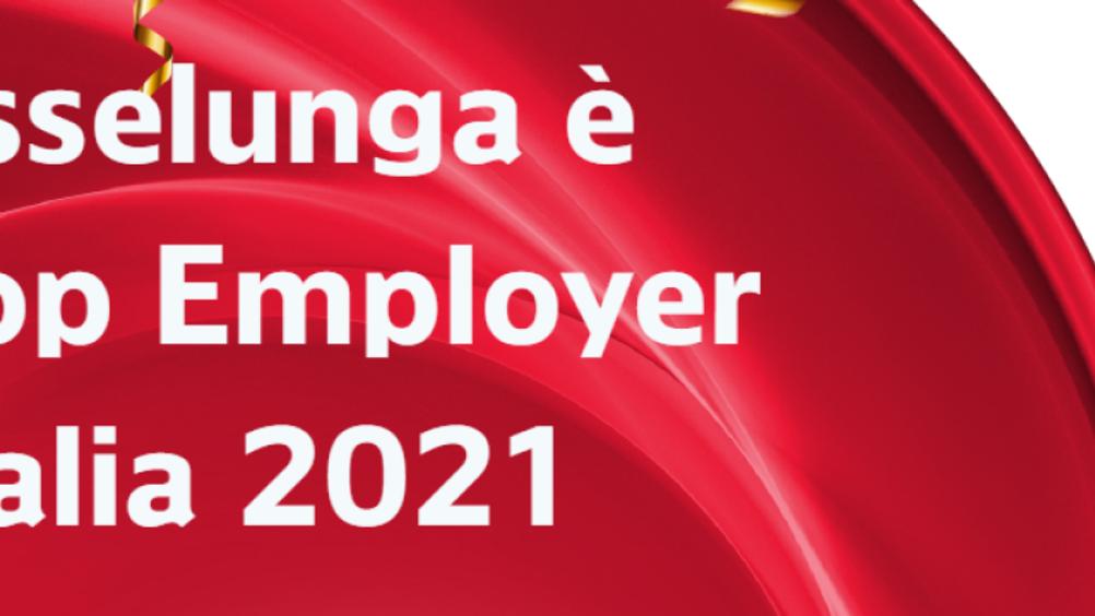 Esselunga Top Employer Italia 2021