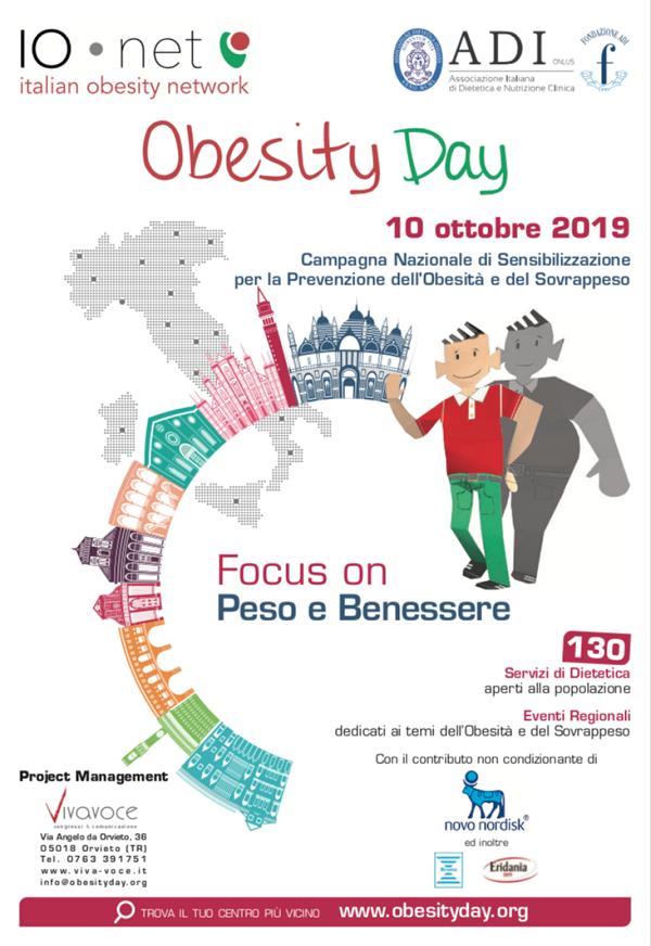 Eridania sostiene l'Obesity Day 2019