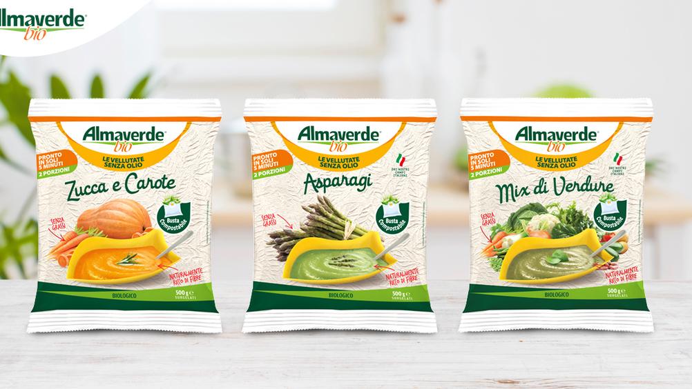 Almaverde Bio presenta le vellutate senza olio