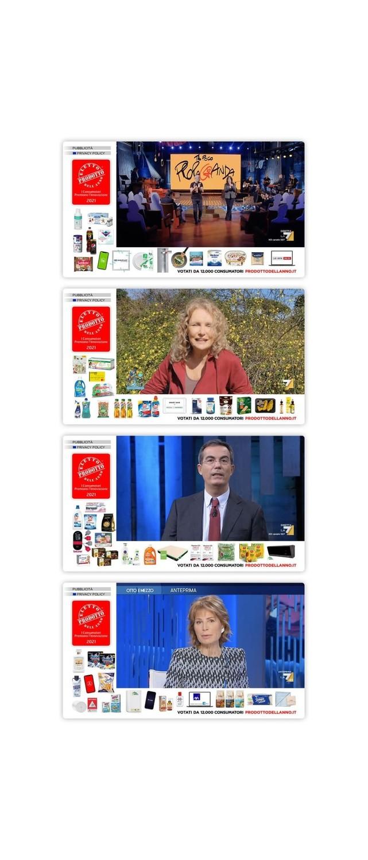 Prodotto dell'anno 2021 on air con una campagna innovativa