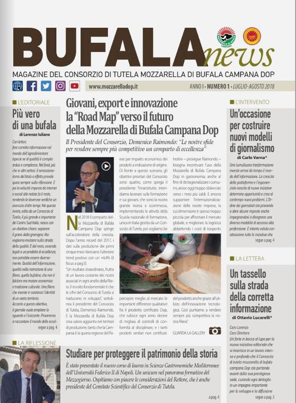 "Mozzarella dop: nasce ""bufala news"", la rivista multimediale del consorzio"