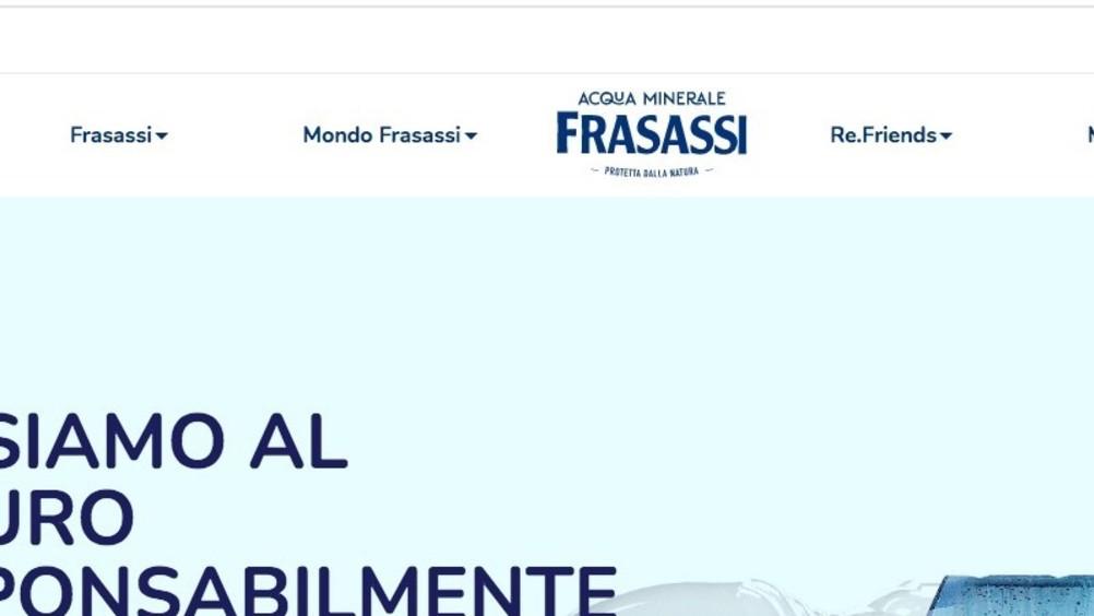 Acqua Frasassi: nuovo sito internet