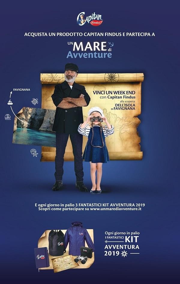 """Capitan Findus, al via il concorso """"Un mare di avventure"""""""