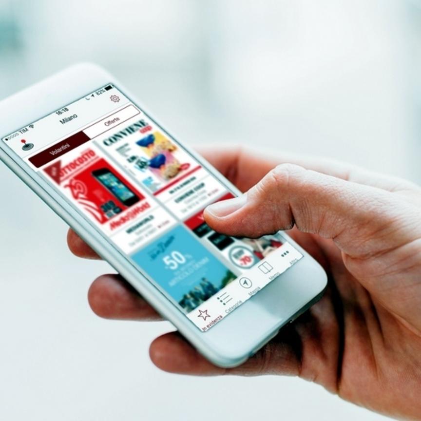 Pam Panorama: più volantini digitali con DoveConviene