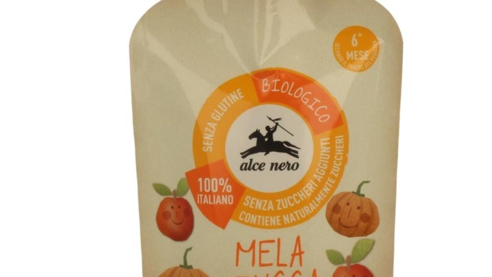 Da Alce Nero le nuove purea di frutta biologica baby cheer pack