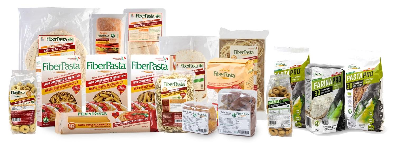 FiberPasta, alimenti a basso indice glicemico e nuova linea proteica... con il buon sapore della tradizione italiana!