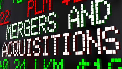 Fusioni e acquisizioni, operazioni costanti a valori cedenti