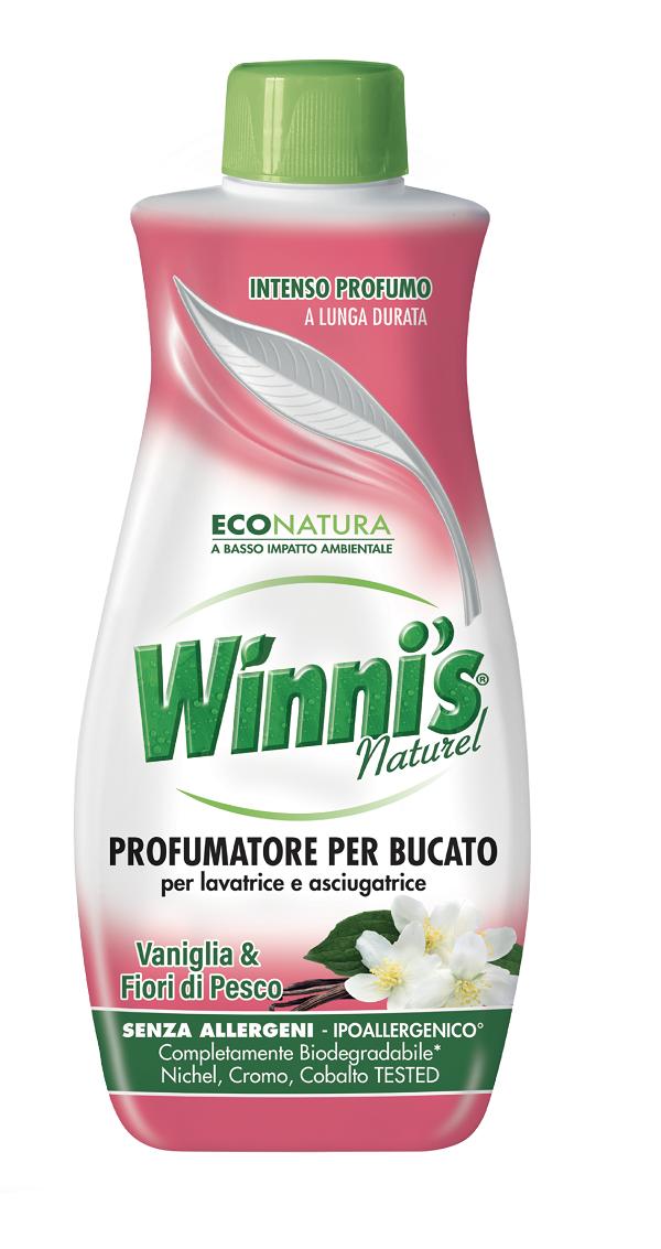 Winni's presenta il nuovo profumatore green per bucato