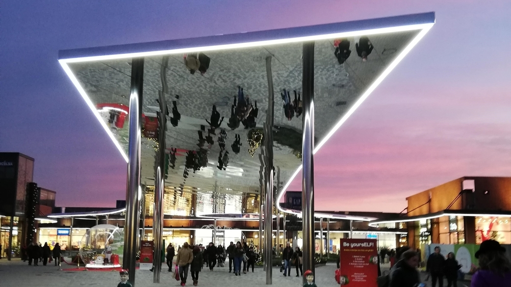 Vicolungo The style outlets: restyling di  in dirittura d'arrivo