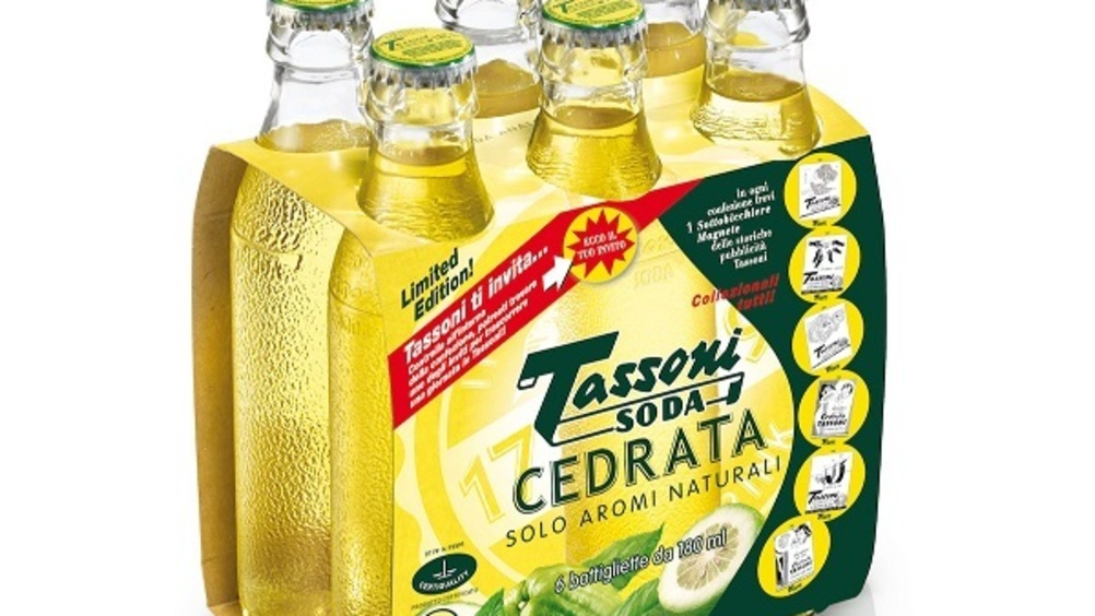 Cedral Tassoni propone Cedrata Limited Edition e Soda Water