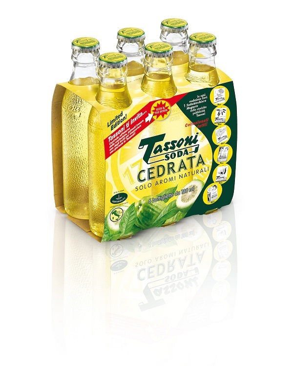 Cedral Tassoni propone Cedrata Limited Edition e Soda Water