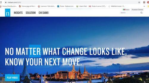 Nielsen: il mercato pubblicitario in Italia a novembre 2019