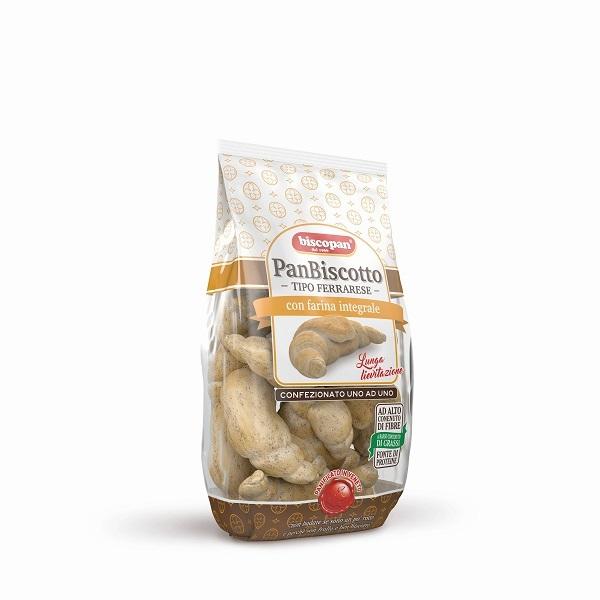 Biscopan: arriva PanBiscotto Ferrarese con farina integrale