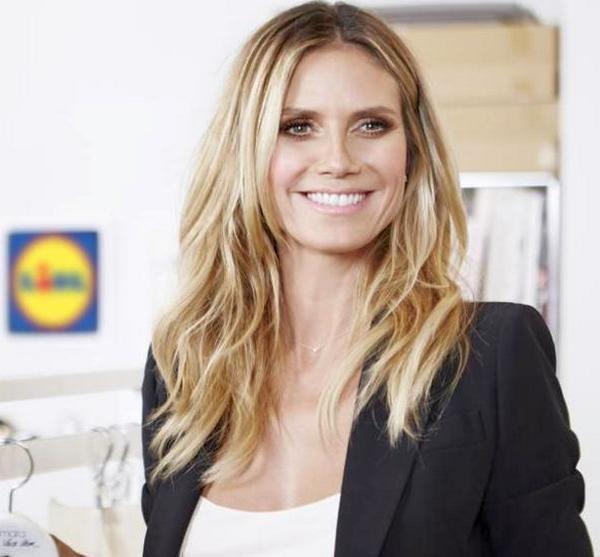 Lidl entra nel settore moda con la supermodella Heidi Klum