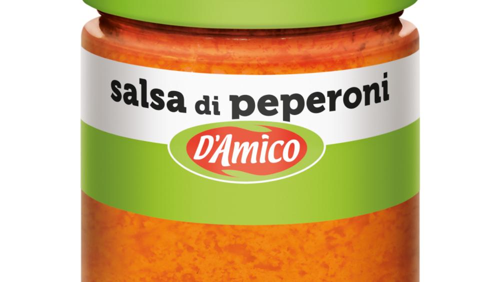D'Amico: una nuova salsa di peperoni
