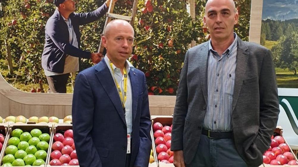 Michele Odorizzi (Melinda) e Rodolfo Brochetti