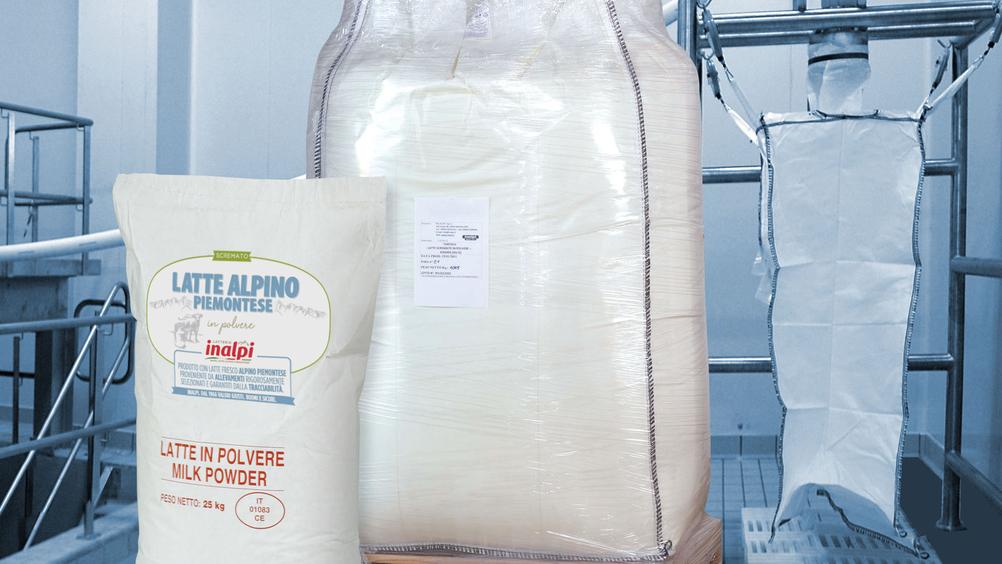 La filiera del buon latte Inalpi: dal burro al latte in polvere