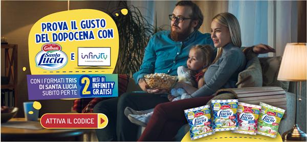 Galbani Santa Lucia e Infinity, al via la nuova iniziativa che premia i consumatori