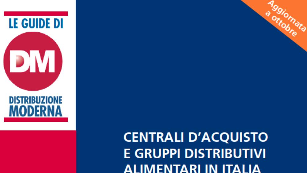Centrali d'acquisto e Gruppi distributivi alimentari in Italia 2020 (ed. ottobre)