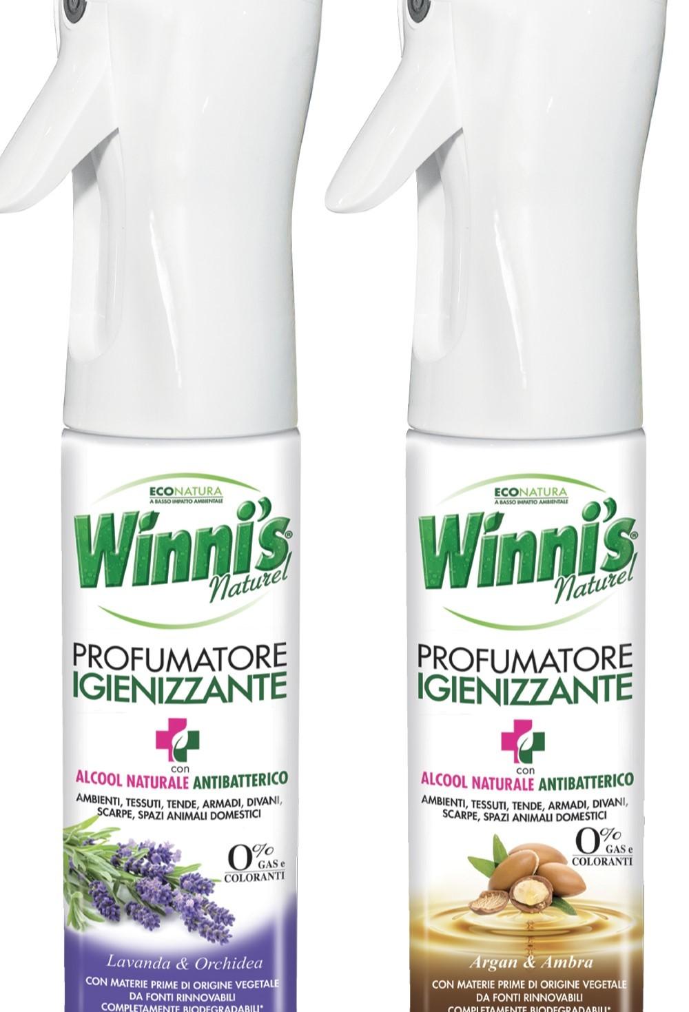 Winni's lancia il primo profumatore igienizzante green