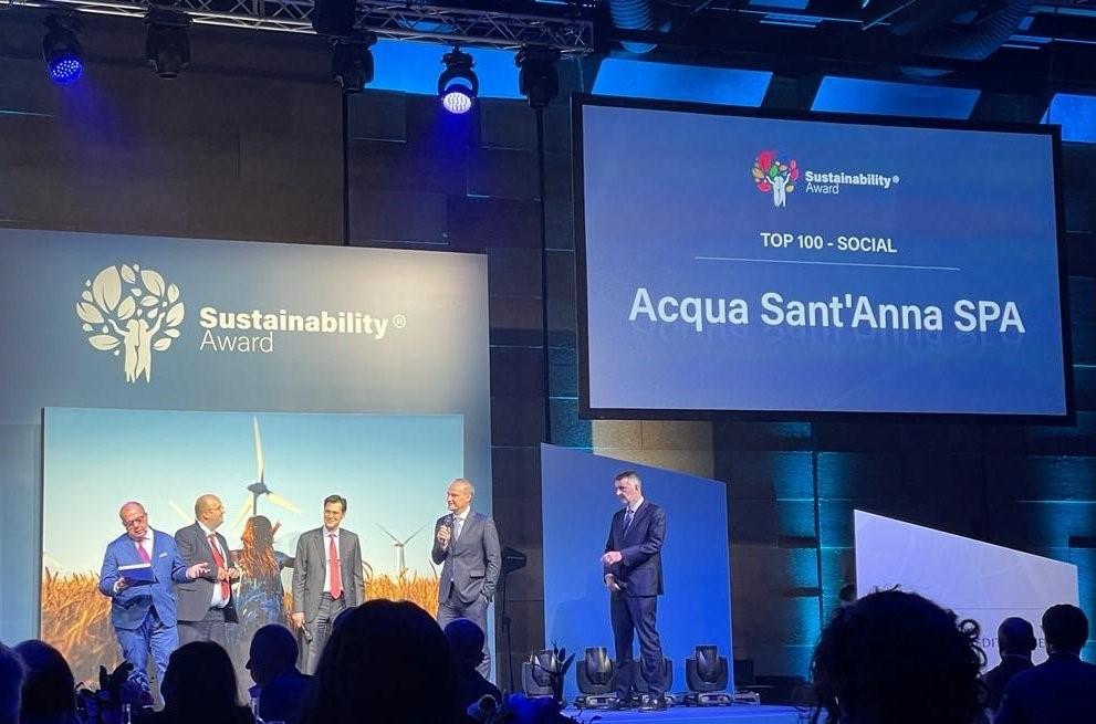 Acqua Sant'Anna riceve il Sustainability Award