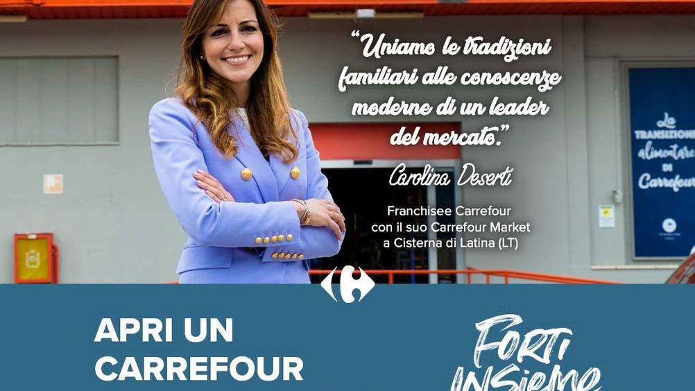 Entra anche tu nella grande famiglia Carrefour e apri il tuo negozio in franchising!