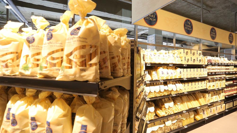 Terre d'Italia spazia sugli alimenti regionali e di qualità
