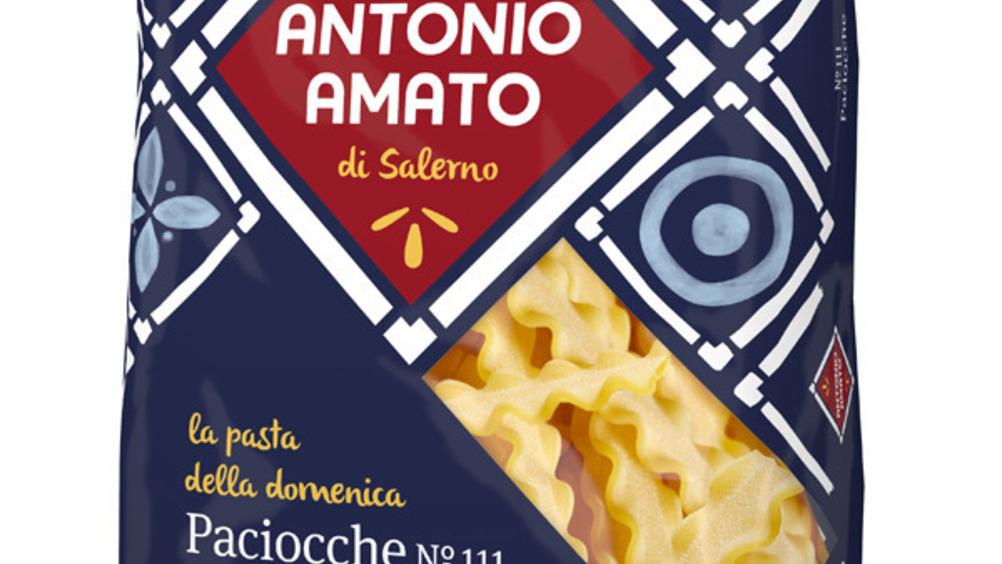 Le Paciocche firmate Antonio Amato nel formato da 500 g.