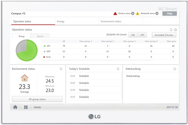 LG presenta il nuovo sistema di controllo Ac Smart 5