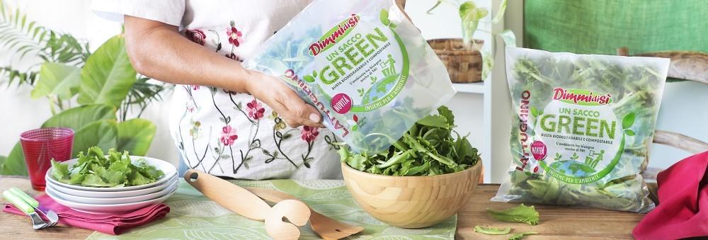 L'insalata DimmidiSì presenta Un Sacco Green
