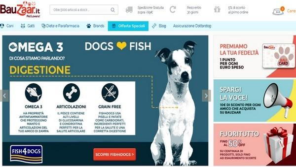 Megamark (Selex) entra nel commercio elettronico dei prodotti per animali