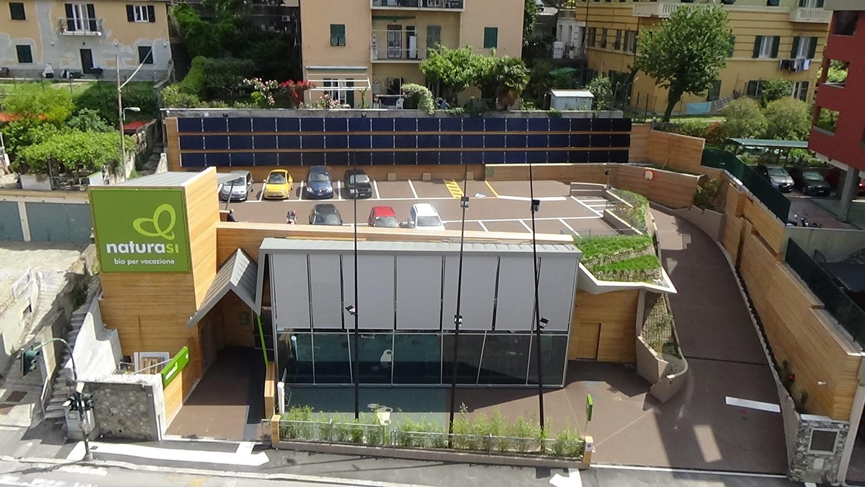 NaturaSì, il pdv di Genova ottiene la certificazione CasaClima Work&Life