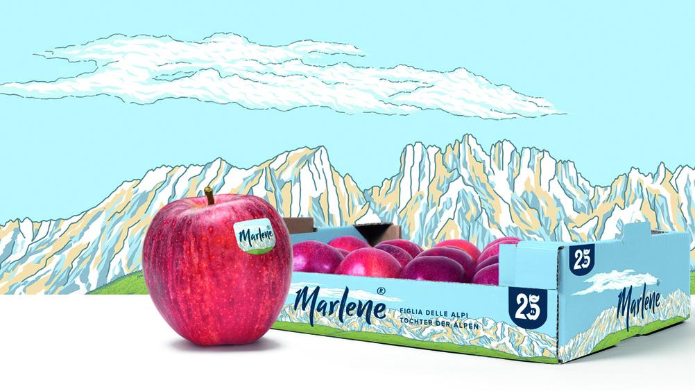 Una mela che è un capolavoro: contest artistico per i 25 anni di Marlene®