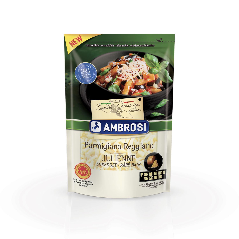 Ambrosi presenta il nuovo Parmigiano Reggiano Julienne