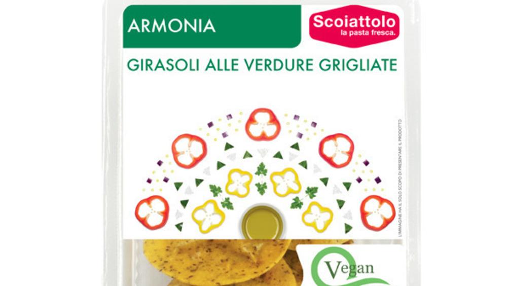 Girasoli alle verdure grigliate della linea Armonia firmata Lo Scoiattolo