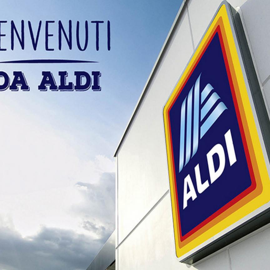 Aldi debutta in Italia fra tre settimane