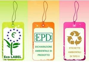 Arrivano le etichette ambientali