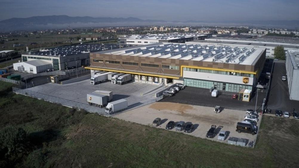 Ups inaugura un centro logistico in Toscana