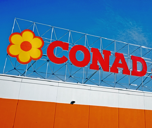Conad acquisisce le attività di Auchan in Italia