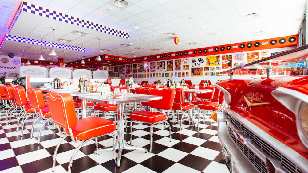 America Graffiti, il diner all'americana