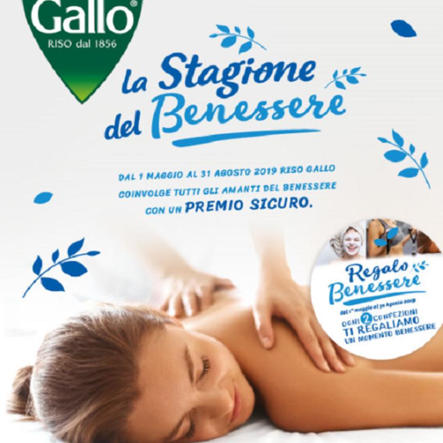 """Riso Gallo lancia la promozione """"La Stagione del Benessere"""""""