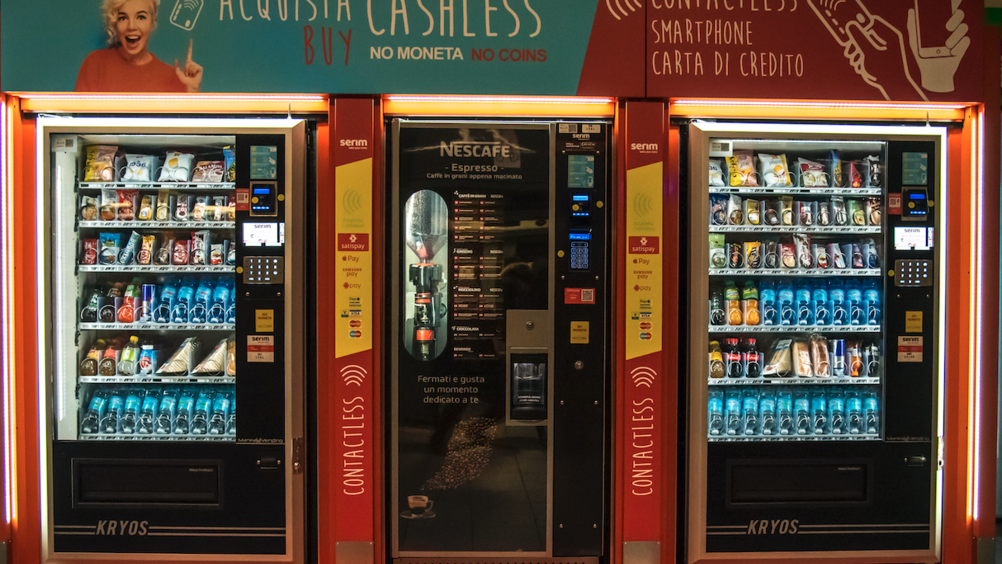 Nescafé e Satispay presentano la Vending Machine totalmente cashless