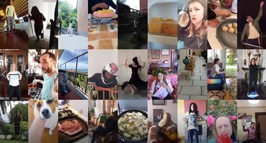 Chiquita: un manifesto per celebrare l'originalità degli italiani