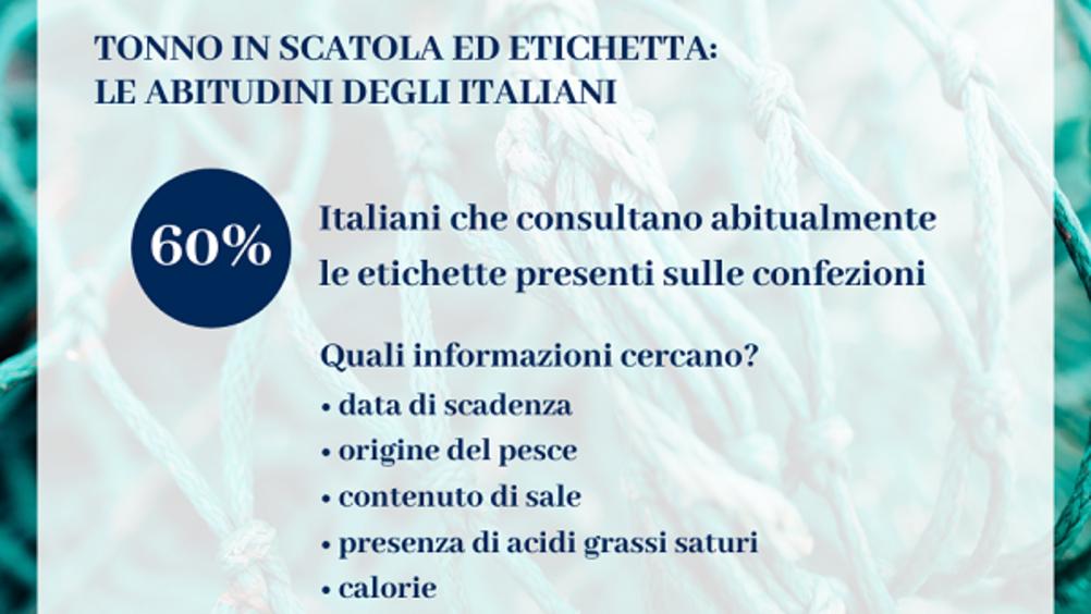 Tonno in scatola: più del 60% degli italiani consulta l'etichetta