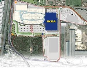 Via Libera Per La Costruzione Del Centro Commerciale Di Roncadelle Brescia,  Integralmente Collegato Allu0027esistente Negozio Ikea, Un Progetto Da 200  Milioni ...